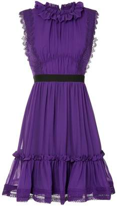 Three floor Pixie ruffled dress