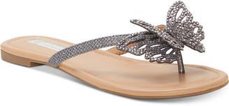 INC International Concepts I.n.c. Women Marsha Butterfly Flip-Flop Sandals, Women Shoes