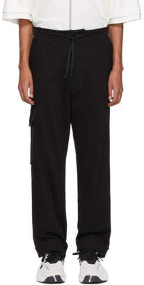 Y-3 Black Utility Cargo Pants