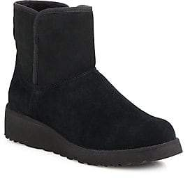 UGG Women's Kristin Slim Short Sheepskin Wedge Boots
