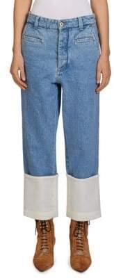 Loewe Cotton Fisherman Jeans