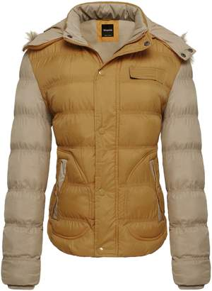 Wantdo Women's Faux Fur-Trimmed Quilted Puffer Jacket in , US 8