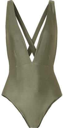 Haight - Marina Swimsuit - Army green