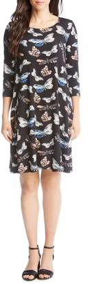 Karen Kane Chloe Print Swing Dress