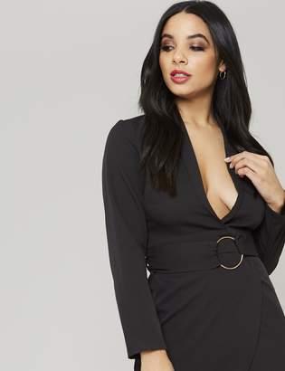 9d208269aa Black Fitted Blazer Dress - ShopStyle UK