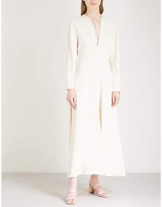 cfa50616b at Selfridges · Stella McCartney Lace-up front crepe dress