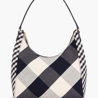 Talbots Gingham Hobo Shoulder Bag