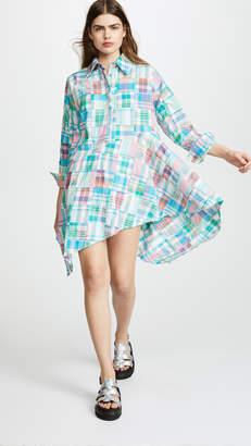 Marques Almeida Asymmetrical Shirt Dress