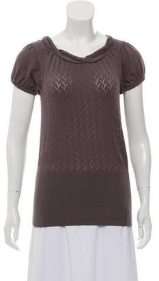 Ted Baker Short Sleeve Knit Top