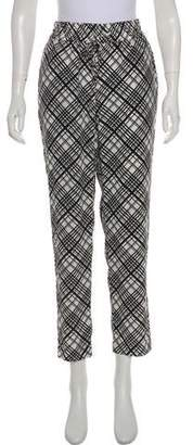 Equipment Silk Mid-Rise Pants