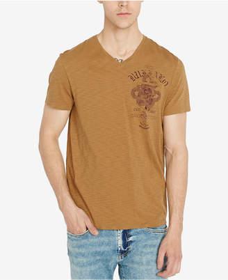 Buffalo David Bitton Men Tirosso Graphic T-Shirt