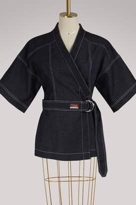 Kenzo Denim kimono top