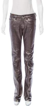 Notify Jeans Mid-Rise Metallic Jeans
