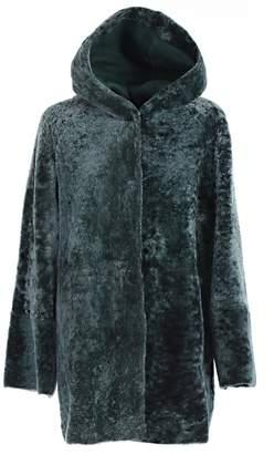 Drome Montone Hooded Coat