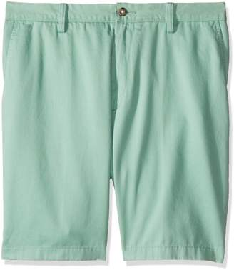 Nautica Men's Big and Tall Cotton Twill Flat Front Chino Deck Short-C92110, Stone