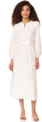 Mara Hoffman Maxi Peasant Dress $395 thestylecure.com