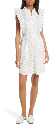 Women's La Vie Rebecca Taylor Breeze Print Ruffle Shirtdress $275 thestylecure.com