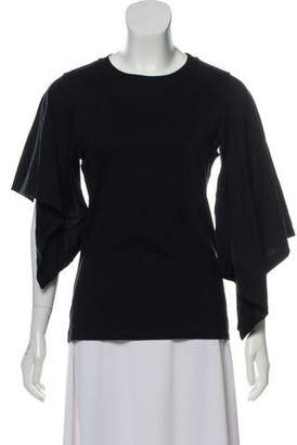 J.W.Anderson Bell Sleeves Crew Neck Top