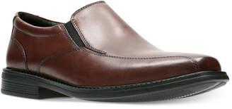 Bostonian Men's Bolton Free Brown Leather Dress Bike-Toe Loafers Men's Shoes