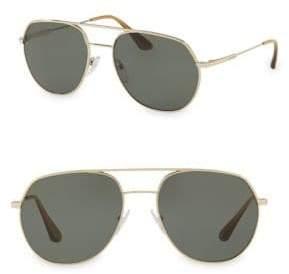 Prada PR 55US Aviator Sunglasses