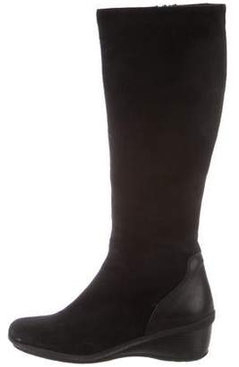 37e9c015879 Aquatalia Wedge Heel Women s Boots - ShopStyle