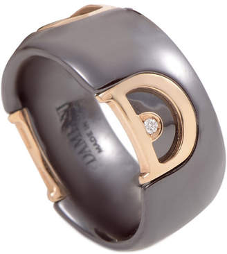 Damiani 18K Rose Gold Diamond Ring