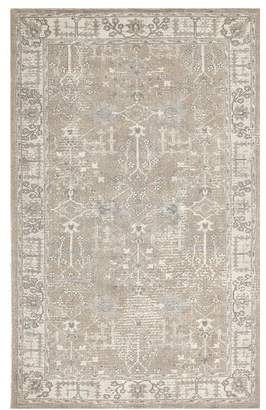 Pottery Barn Reeva Printed Rug - Neutral Multi