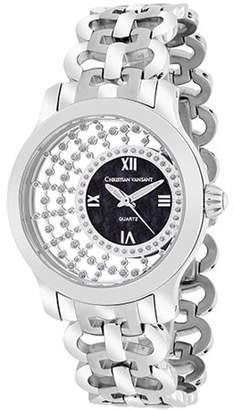 Christian Van Sant Women's Delicate Watch Swiss parts quartz Mineral Crystal