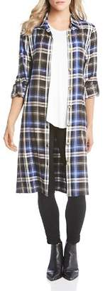 Karen Kane Plaid Shirt Dress