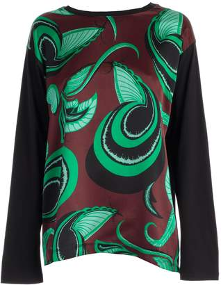 Dries Van Noten Classic Printed Blouse