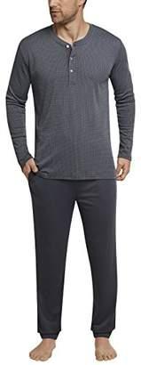 Schiesser Men's Anzug Lang Pyjama Sets,(Size: 050)