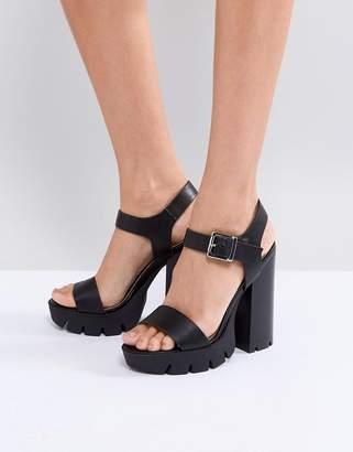 Asos DESIGN TARREN Platform Sandals