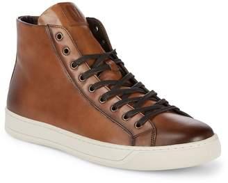 Bruno Magli Men's Wilson Leather High-Top Sneakers