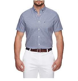 Nautica Ss Plaid Shirt