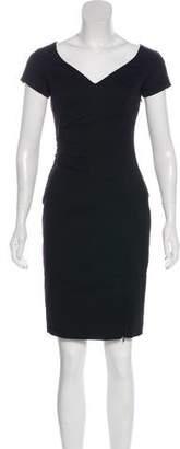Rachel Zoe Short Sleeve Mini Cocktail Dress