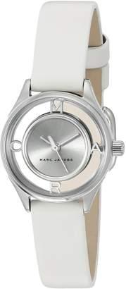 Marc by Marc Jacobs Women's MJ1460 Tether Analog Display Analog Quartz White Watch