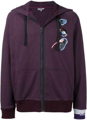 Lanvin bird embroidered hoody