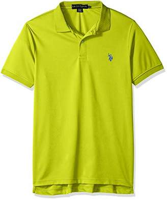 U.S. Polo Assn. Men's Solid Stretch Performance Shirt