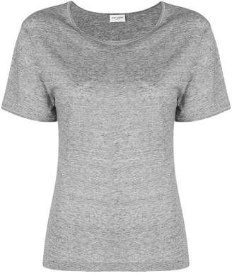 Saint Laurent bias cut T-shirt