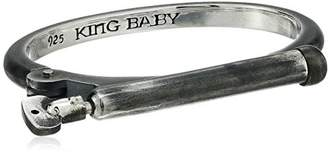 King Baby Studio Heartbreaker Vintage Shackle Hinged Cuff Bracelet