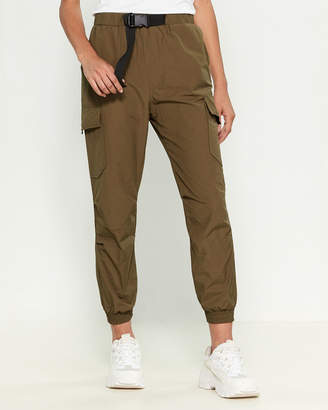 Love Tree Belted Cargo Pants