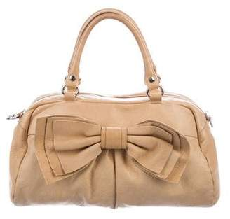 RED Valentino Leather Bow Handle Bag