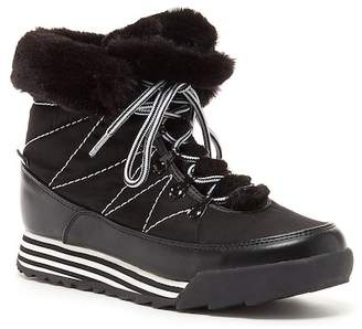 Rocket Dog Icee Faux Fur Trim Sneaker Boot
