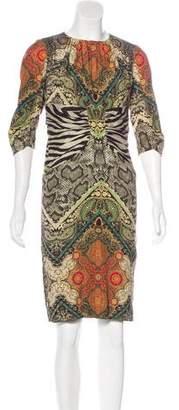 Etro Silk Sheath Dress