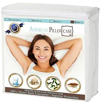 Waterproof Body Pillow Protector Zippered - Dust Mite