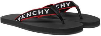 Givenchy Rubber Flip Flops