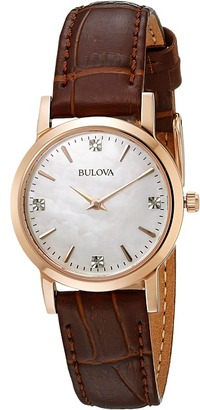 Bulova - Ladies Dress - 97P105 Dress Watches $275 thestylecure.com