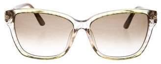 Emilio Pucci Gradient Acetate Sunglasses