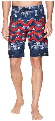 O'Neill Hyperfreak Independence Boardshorts Men's Swimwear