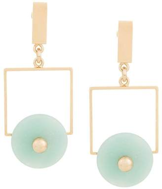 Crystalline Amazonite earrings